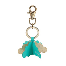 Origami Cloud Handbag Charm & Keyring. Key Rings & Charms from Aspinal of London