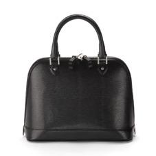 Hepburn Bag in Black Lizard. Handbags & Clutches from Aspinal of London
