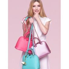 Mini Hepburn Bag in Smooth Aqua Nappa. Handbags & Clutches from Aspinal of London