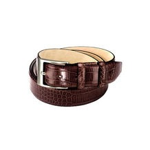Croc Leather Belts. Mens Leather Belts from Aspinal of London