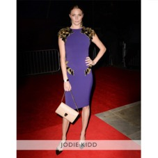 Manhattan Clutch in Deer Saffiano. Evening & Clutches from Aspinal of London