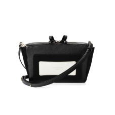 Mini Marylebone Clutch in Monochrome Mix. Evening & Clutches from Aspinal of London