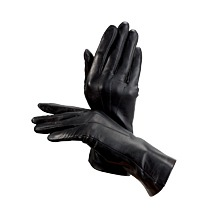 Ladies Cashmere Lined Leather Gloves. Ladies Leather Gloves from Aspinal of London