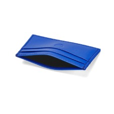 Slim Credit Card Case in Smooth Cobalt Blue. Business & Credit Card Holders from Aspinal of London