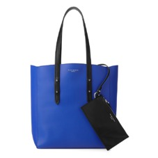 Aspinal Essential Tote in Smooth Cobalt Blue. Handbags & Clutches from Aspinal of London