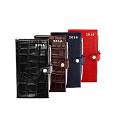 Leather Pocket Diaries. Leather Diaries from Aspinal of London