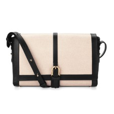Shoulder Buckle Bag in Monochrome Mix. Handbags & Clutches from Aspinal of London