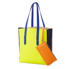 Aspinal x être cécile Essential Tote in Chartreuse Yellow. Handbags & Clutches from Aspinal of London