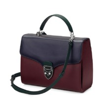 Aspinal x être cécile Mayfair Bag in Burgundy. Evening & Clutches from Aspinal of London