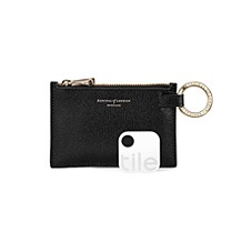 Tile Tracker & Keyring Pouch. Luxury Travel Accessories from Aspinal of London