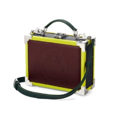 Aspinal x être cécile Mini Trunk Clutch in Burgundy. Handbags & Clutches from Aspinal of London