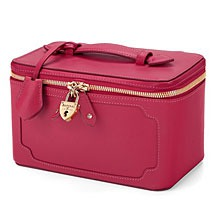Marylebone Cosmetic Case. Beauty Accessories from Aspinal of London