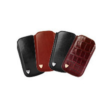 Leather iPhone 5 Case. Luxury Travel Accessories from Aspinal of London