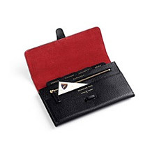 Mens Leather Travel Wallets. Luxury Travel Accessories from Aspinal of London