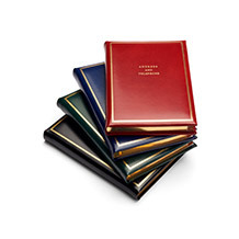 Travel Address Books. Luxury Travel Accessories from Aspinal of London