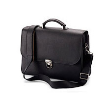 City Laptop Briefcase. Office & Business from Aspinal of London