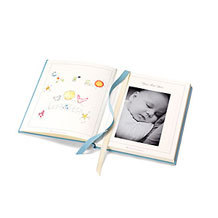 Leather Baby Photo Albums. Leather Photo Albums from Aspinal of London