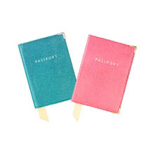 Baby Passport Cover. Baby Photo Albums & Gifts from Aspinal of London