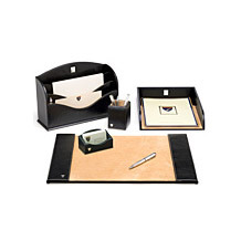 Leather Desk Accessories. Homeware & Gifts from Aspinal of London