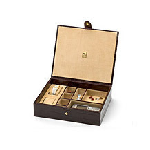 Cufflink Boxes & Dressing Cases. Home Accessories from Aspinal of London