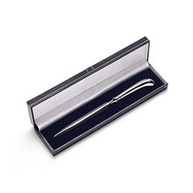 Sterling Silver Letter Opener. Leather Desk Accessories from Aspinal of London