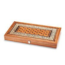 "22"" Wooden Backgammon Set. Backgammon Sets from Aspinal of London"