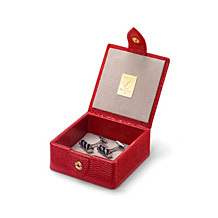 Small Trinket Box. Leather Jewellery Boxes from Aspinal of London