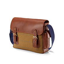 The England Large Messenger Bag. Business Cases from Aspinal of London