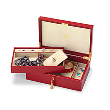 Leather Jewellery Boxes. Ladies Collection from Aspinal of London