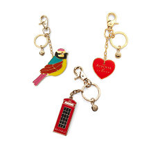 Handbag Charms & Keyrings. Key Rings & Charms from Aspinal of London