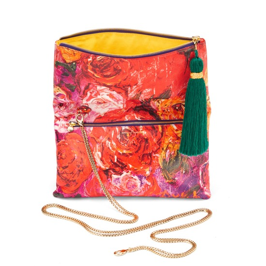 Secret Garden Millie Clutch from Aspinal of London