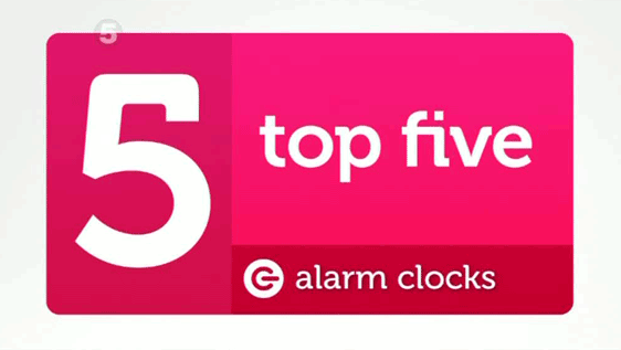 The Gadget Show Top 5 Alarm Clocks