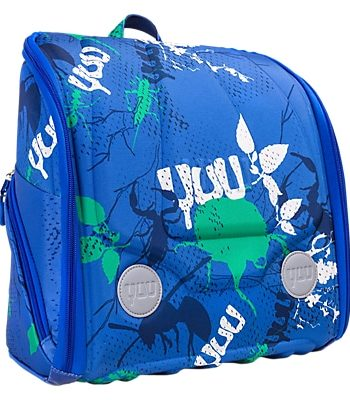 YUU Max Deluxe Buuz YUUbag Backpack & Fun Pack, Blue