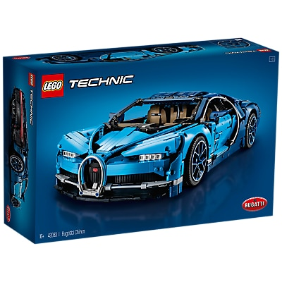 LEGO Technic 42083 Bugatti Chiron Supercar