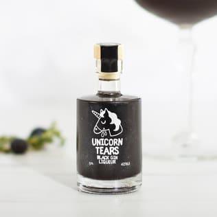 Unicorn Tears Black Gin Liqueur Miniature