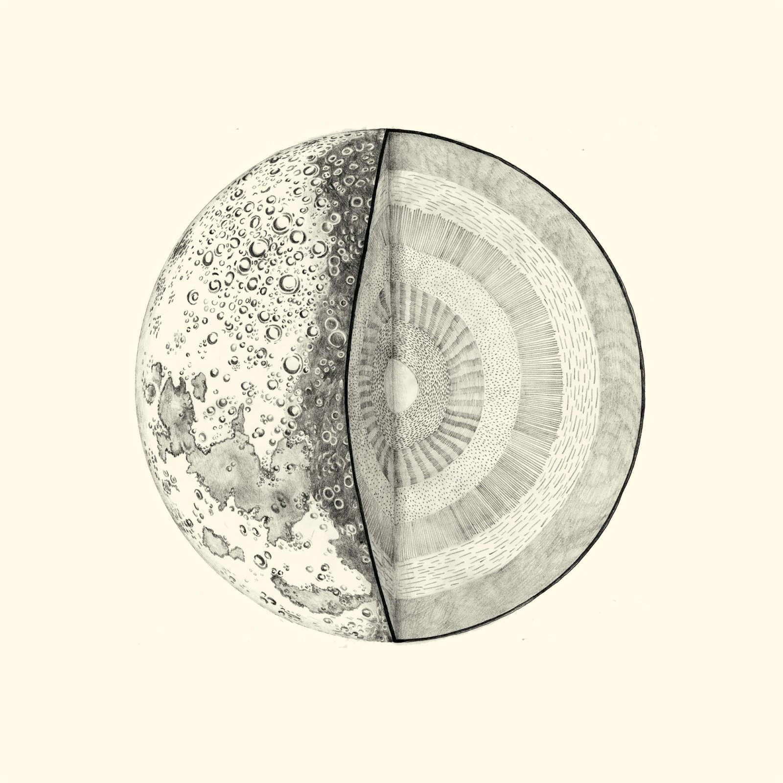 Essy  May  Personal  Earth Moon Sun Pencil Web