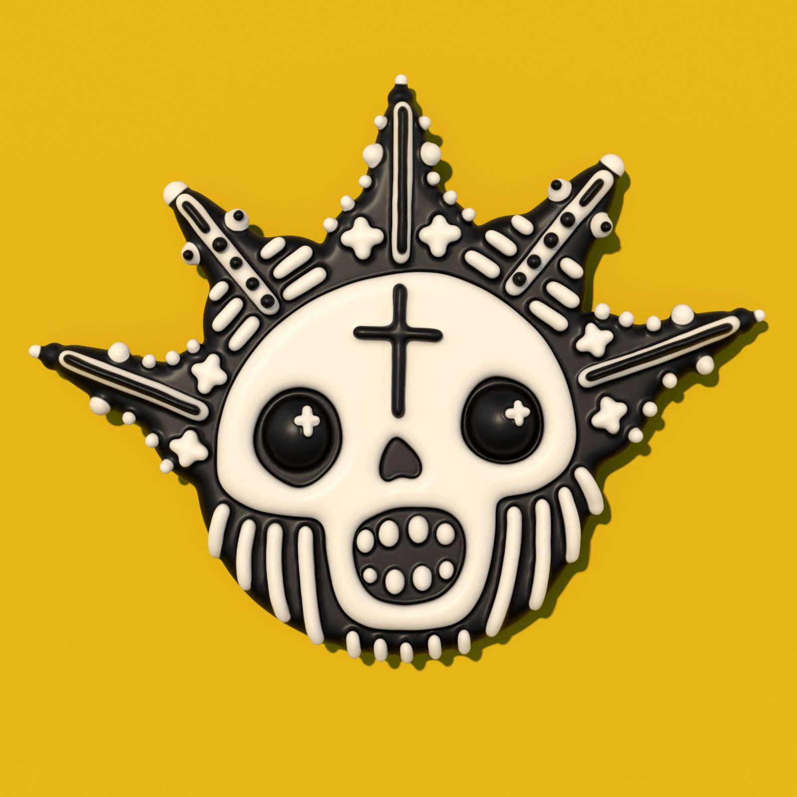 Gutless Wonder Personal Work Skull V2