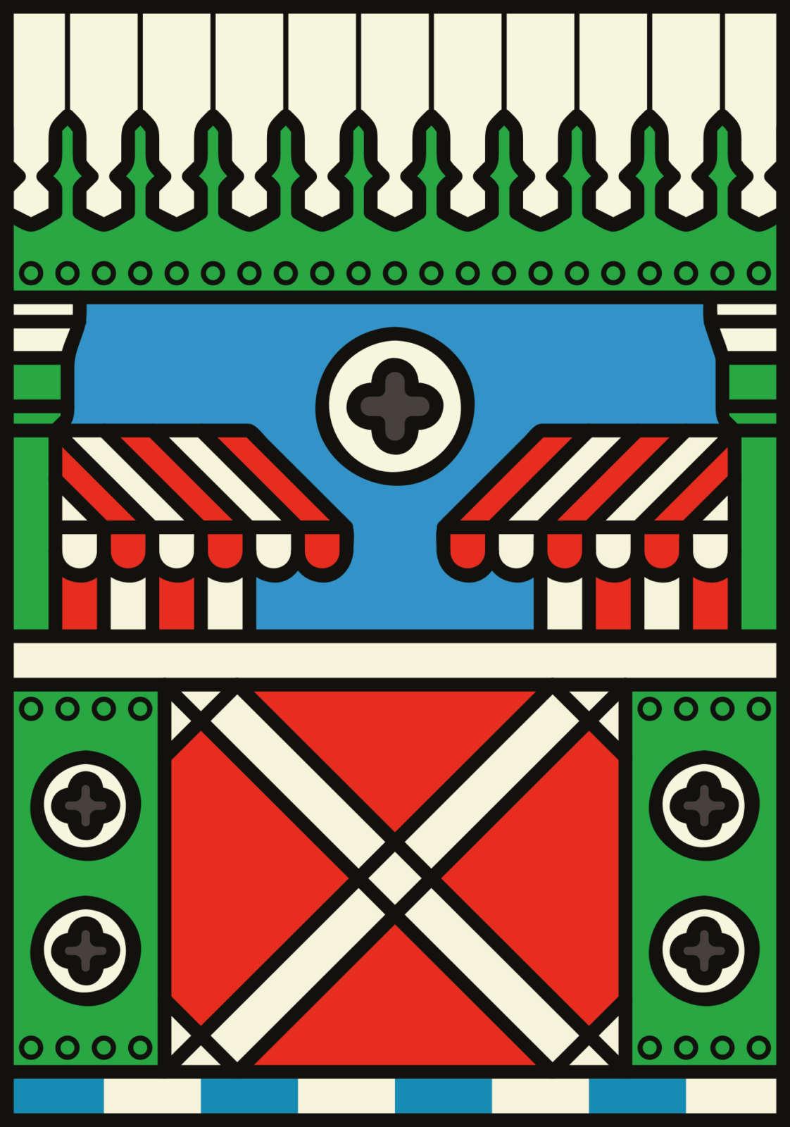 Hoxton Hoarding Peter Judson Origional 06
