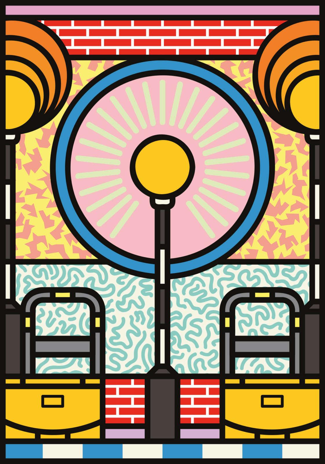 Hoxton Hoarding Peter Judson Origional 12