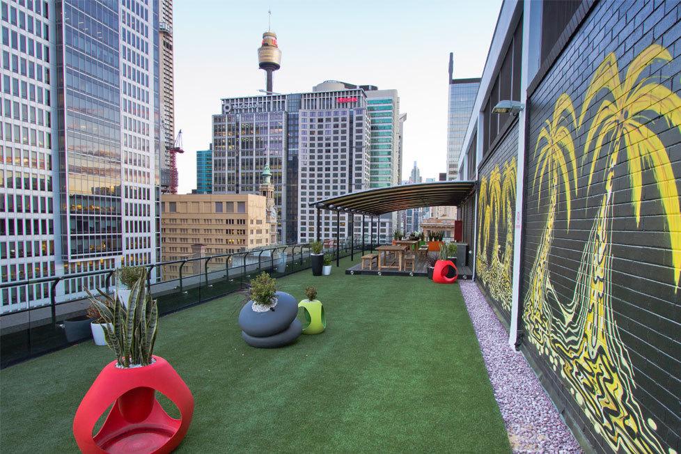 Australian roof terrace