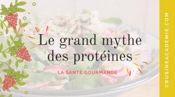 La mythe sur les protéines
