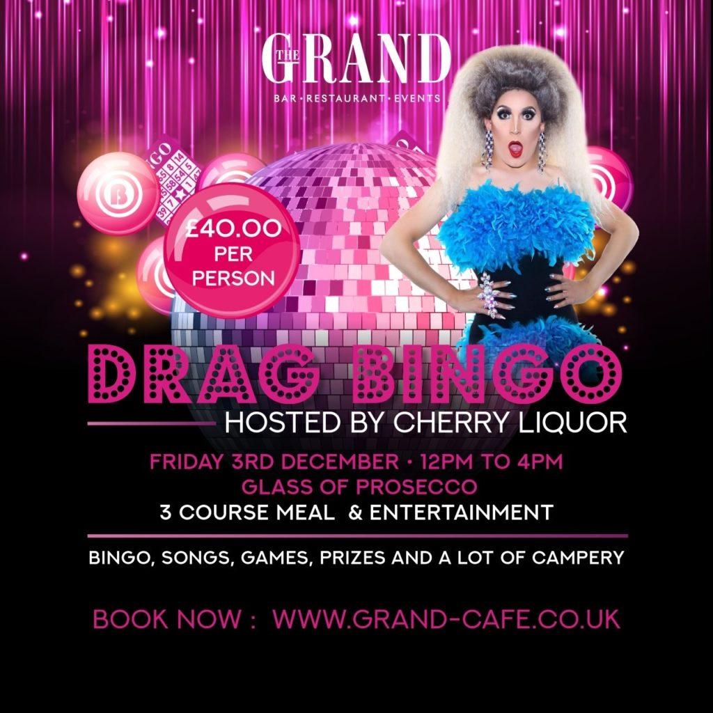 Drag Bingo The Grand