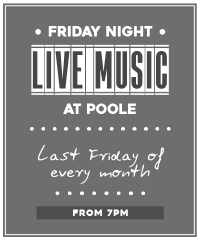 Poole Friday Night Live Music Overlay 1