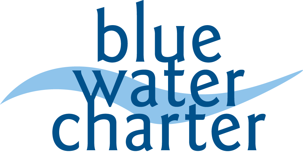 Blue Water Charter Logo