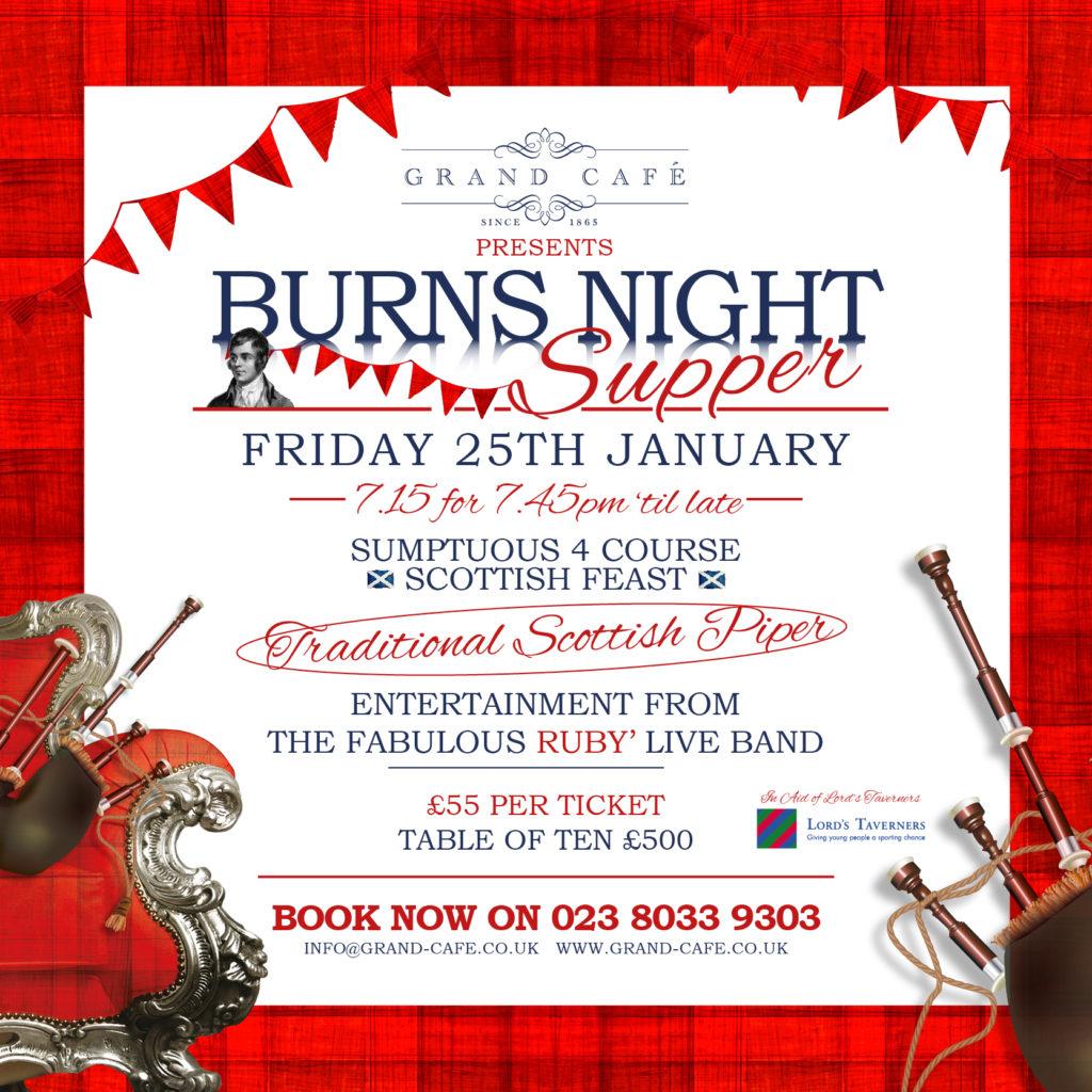 Burns Night Social Media 2019