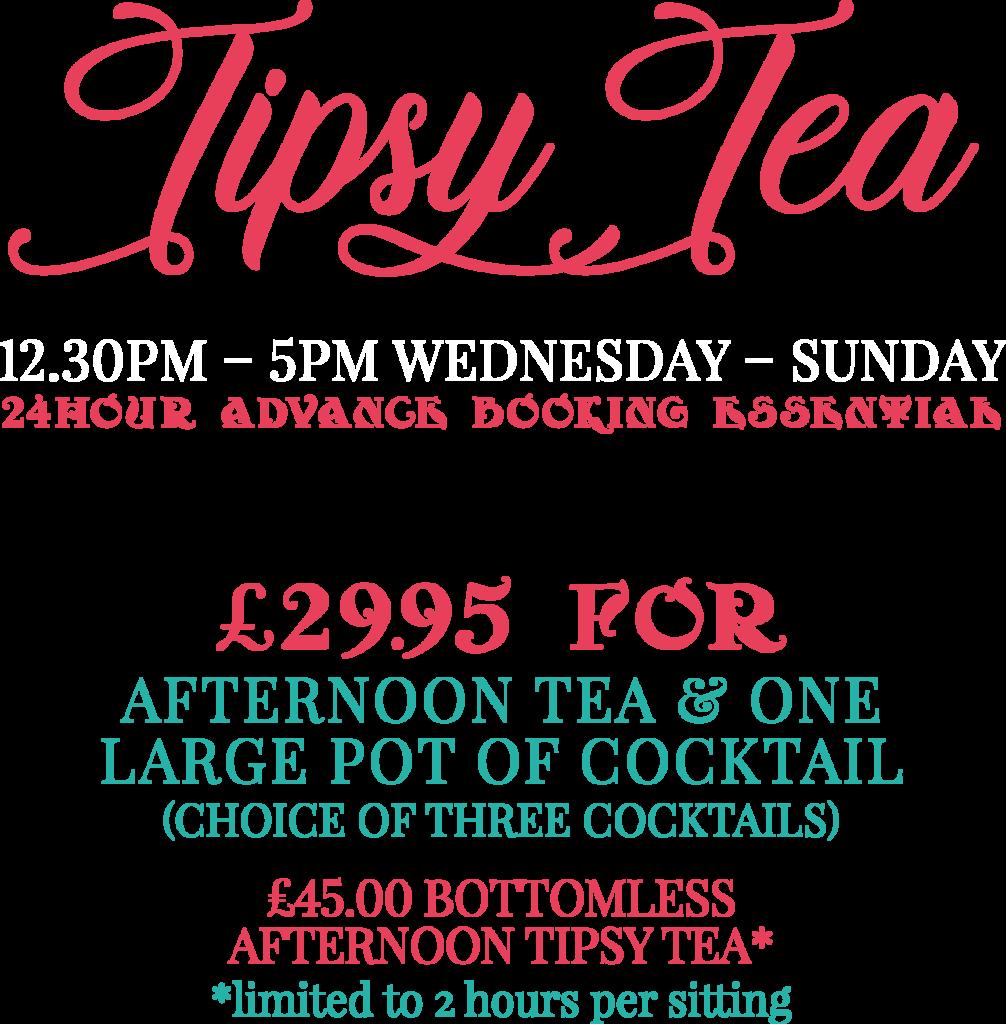 Tipsy Tea 2020