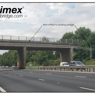 Animex Wildlife Bridge Retrofit Dormouse Mitigation