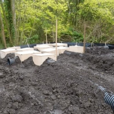 Badger Sett Construction Bury Tubes Mitigation