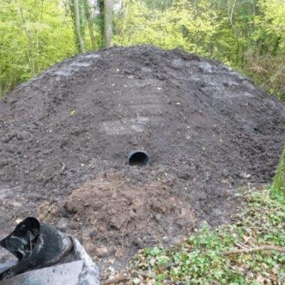 Final Buried Artificial Badger Sett Entrance Mitigation