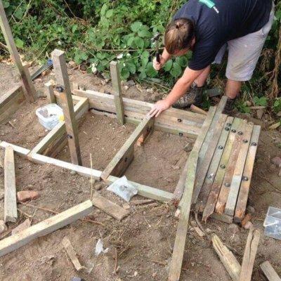 Building Hedgehog House